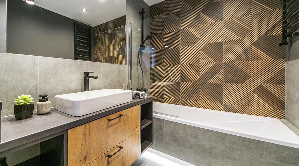 łazienka w stylu industrialny