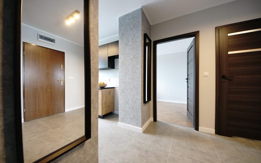 Projekt mieszkania z rynku pierwotnego